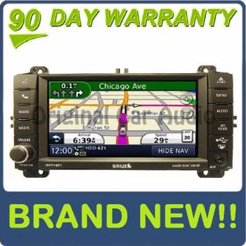 2011 2012 2013 Jeep Grand Cherokee Dodge Durango Nav GPS MyGig HD Radio AM FM CD Player, RHB