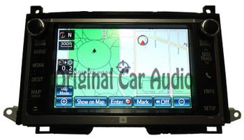 2012 2013 2014 Toyota JBL navigation radio GPS CD player LCD display screen