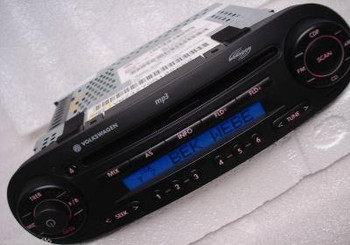 1998 - 2010 VOLKSWAGEN VW Beetle Bug OEM AM FM Radio Stereo Monsoon MP3 CD Player Receiver