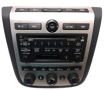 NISSAN Murano AM FM Radio Satellite Stereo 6 Disc Changer