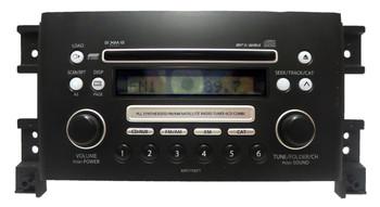 2006 - 2008 Suzuki Vitara OEM AUX XM Radio MP3 6 Disc Changer CD Player 3910165J30, 39101 65J30, 39101-65J30