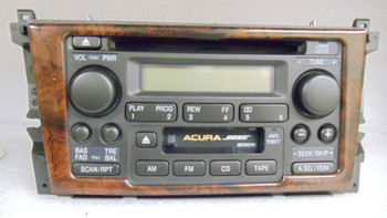 99 - 01 Acura TL Radio and CD player WOOD