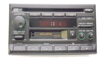 Acura Integra CL Radio Tape and 6 Disc CD Changer NON BOSE 1990-2001