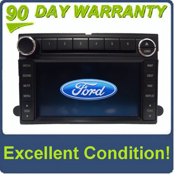 2006 - 2009 Ford Lincoln Mercury OEM Navigation Radio 6 Disc Changer AUX MP3 CD Player Receiver
