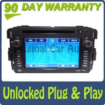Unlocked GMC Radio Navigation Aux CD Player Stereo OEM