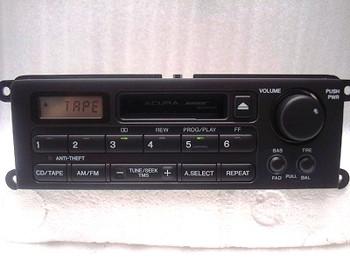 1999 2000 2001 2002 Acura RL GPS Radio and Tape Player W/ CODE 39100-SZ3-A920-M1, 39100-SZ3-A910-M1, 39100-SZ3-A930-M1 , 39100-SZ3-A950-M1