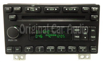 NEW FORD Explorer Expedition Mustang MERCURY Mountaineer Radio Stereo 6 Disc Changer MP3 CD Player SIRIUS XM Satellite 2004 2005 2006 OEM