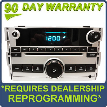 Chevy Radio Auxiliary MP3 Single CD Player AUX Stereo OEM