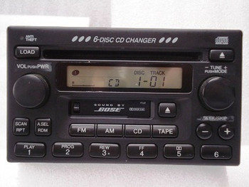 Acura Legend Radio Tape & 6 Disc CD Changer 90 91 92 93 94 95 39100-S6M-A100, 39100S6MA100