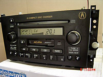 ACURA TL 39101 SOK A210 M1 3TB0 Radio 6 Disc CD Player 1999 2000 2001 2002 2003 39101-SOK-A220-M1