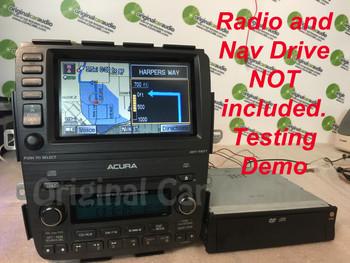 Acura MDX GPS Navigation Display Screen 39810-S3V-A220-M1, 39810S3VA220M1, 39810-S3V-A220, 39810S3VA220 2005 2006