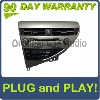 Lexus RX350 MP3 CD Player 6 CD Changer GPS Radio Stereo