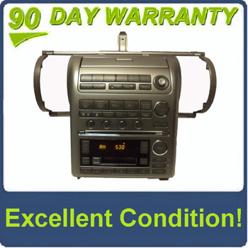 2003 - 2004 03 04 INFINITI OEM G35 G-35 GPS Navigation Radio Stereo 6 Disc Changer CD Tape Player
