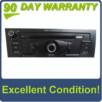 2009 AUDI A4 S4 OEM Symphony Stereo AM FM SAT Radio 6 Disc Changer CD Player