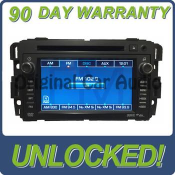 UNLOCKED GM OEM Stereo AM FM Radio GPS Navigation CD DVD Player