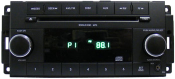 2007 - 2013 DODGE CHRYSLER JEEP OEM Radio MP3 WMA Single CD Player AUX Auxiliary RES