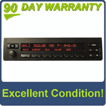 00 01 02 03 04 05 06 BMW X5 Radio Display Phone BC Controls 2000 2001 2002 2003 2004 2005 2006