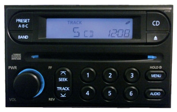 01 02 03 04 NISSAN Xterra Frontier Radio CD Player CY130