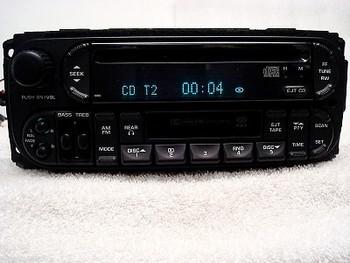 2002 - 2007 Chrysler Jeep Dodge OEM AM FM Radio CD Player Receiver RBU