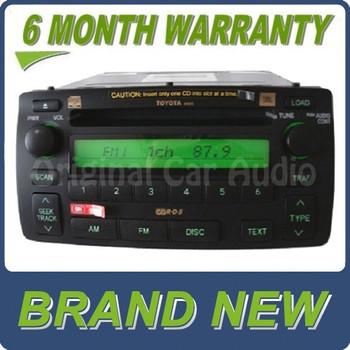 New Toyota Corolla JBL radio 6 CD disc player changer A51815