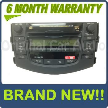 06 07 08 09 2010 Toyota Rav4 XM Radio MP3 6 Disc Changer CD Player 86120-0R100