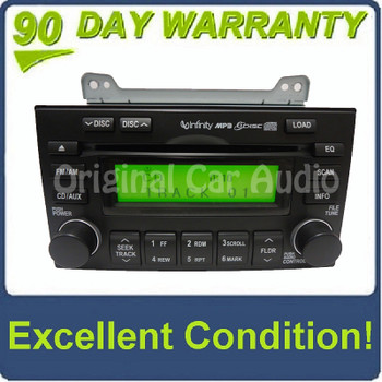 08 09 10 Hyundai Entourage OEM Stereo AM FM Radio 6 Disc Changer MP3 Cd Player