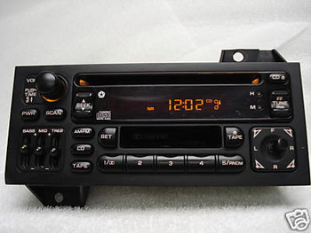 1993 - 2000 Chrysler Jeep Dodge Sebring Cherokee Avenger OEM AM FM Radio CD Player Receiver