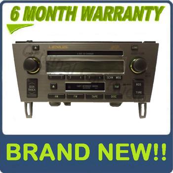 2002 - 2005 Lexus SC430 OEM Radio Mark Levinson radio 6 CD player P6813