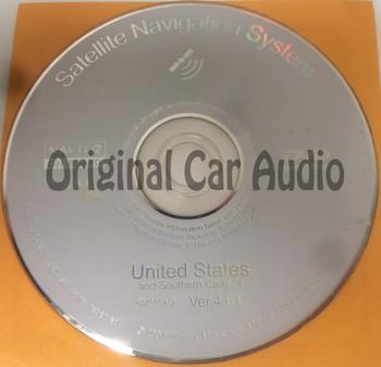 Acura Honda Satellite Navigation System CD BM515AO Ver. 4.61GPS DVD Drive Disc