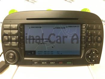 2005 2006 2007 2008 Mercedes Benz SL Class OEM W230 radio Navigation GPS CD Player AM FM