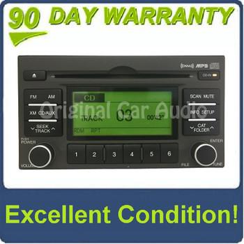 07-11 Hyundai Accent radio AM FM CD player MP3 satellite OEM