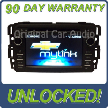 UNLOCKED 2013 - 2014 Chevy Buick Traverse Enclave GM touch screen radio CD player aux navigation myfi XM