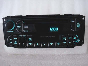 1998 - 2002 Chrysler Jeep Dodge OEM AM FM Radio Tape Cassette CD Player Receiver
