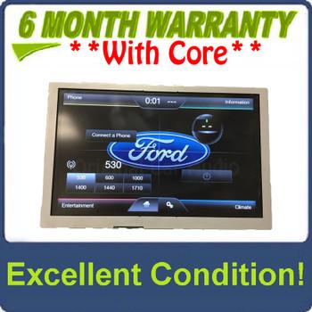 "2012 - 2015 Ford Explorer C-Max Escape Focus OEM Sync 2 8"" Navigation Display Screen"