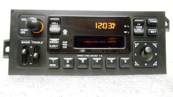1995 - 2000 Chrysler Jeep Dodge Sebring OEM AM FM Radio Tape Cassette Receiver