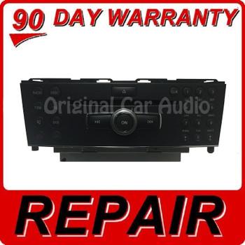 Repair 2008 Mercedes Benz C230 C300 C350 radio CD Player OEM