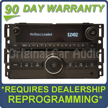 Pontiac Solstice radio receiver stereo CD player MP3 aux OEM