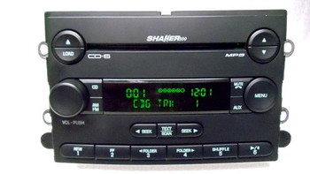 05 06 2005 2006 FORD Mustang SHAKER 500 Radio MP3 6 CD Changer Player