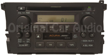 Acura TL Radio Receiver CD Player Tape Cassette Deck OEM