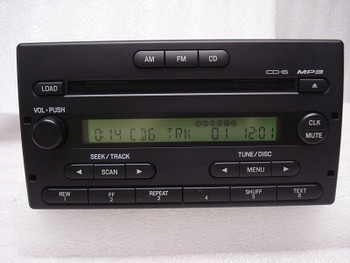 1998 - 2002 Ford Explorer Ranger 6 CD Player MP3 Radio