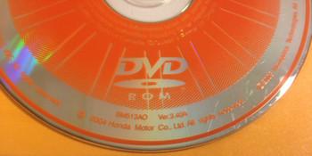 Acura Honda Satellite Navigation System GPS DVD Drive Disc BM513AO Ver. 3.40A