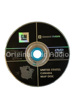 GM Satellite Navigation System CD 15792651 Version 4.1