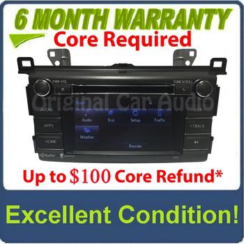 2013 2014 2015 2016 2017 Toyota OEM Gracenote AM FM HD Radio Bluetooth CD Player Receiver 100326, 100325