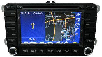 Remanufactured 2005 2006 2007 2008 2009 Volkswagen Jetta Passat Rabbit Golf GTI EOS Tiguan OEM Navigation GPS Radio Stereo DVD LCD Screen Display Screen