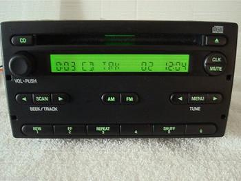 1998 - 2006 Ford Mercury OEM AM FM Radio CD Player Receiver