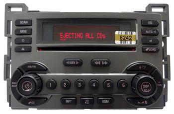 Pontiac Radio 6 Disc CD Changer Player RDS XM Sat