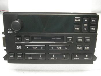 1999 - 2002 Lincoln Continental Radio/Tape Player