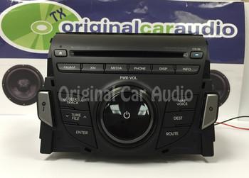 12 13 Hyundai Azera OEM Infinity Navigation Bluetooth XM CD Player Radio