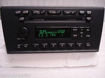 2000  - 2002 Lincoln LS Alpine Radio 6 CD Changer
