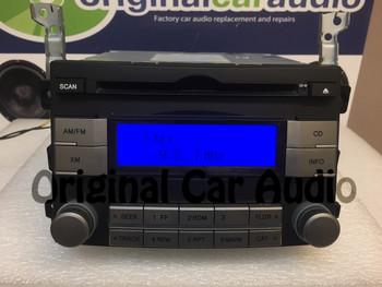 2006 - 2012 Hyundai Veracruz Single CD AM FM XM  Satellite Radio OEM